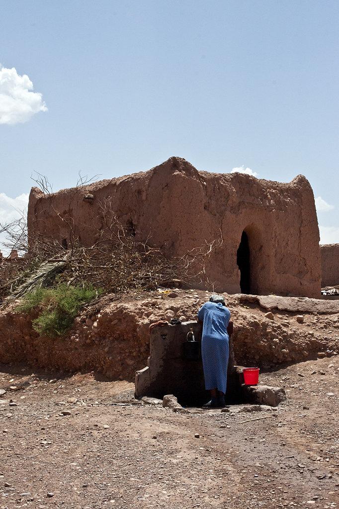 Ouarzazate- Au puits