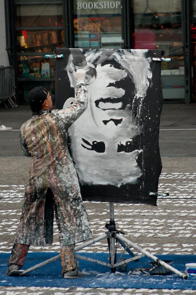 Le peintre de Beaubourg
